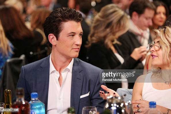 Actor Miles Teller during the 2017 Film Independent Spirit Awards at the Santa Monica Pier on February 25 2017 in Santa Monica California