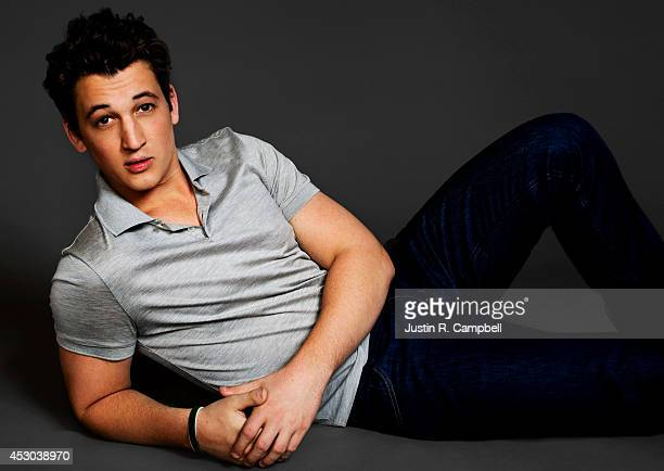 Actor Miles Teller is photographed for Just Jared on March 8 2014 in Los Angeles California PUBLISHED ONLINE