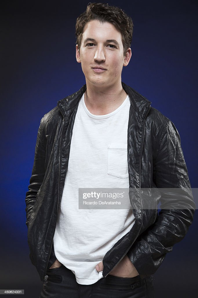 Actor <a gi-track='captionPersonalityLinkClicked' href=/galleries/search?phrase=Miles+Teller&family=editorial&specificpeople=6471673 ng-click='$event.stopPropagation()'>Miles Teller</a> is photographed for Los Angeles Times on November 8, 2013 in Hollywood, California. PUBLISHED IMAGE.