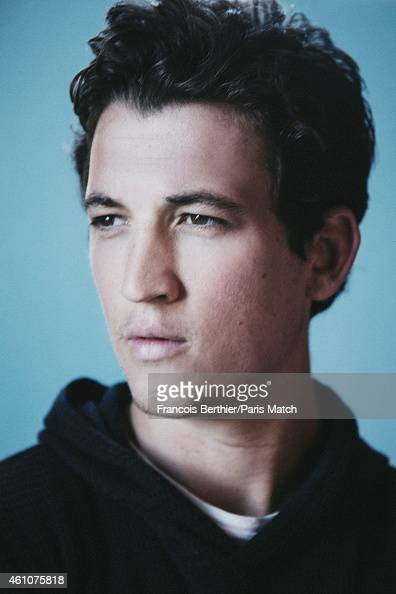 Actor Miles Teller is photographed for Paris Match on September 12 2014 in Deauville France
