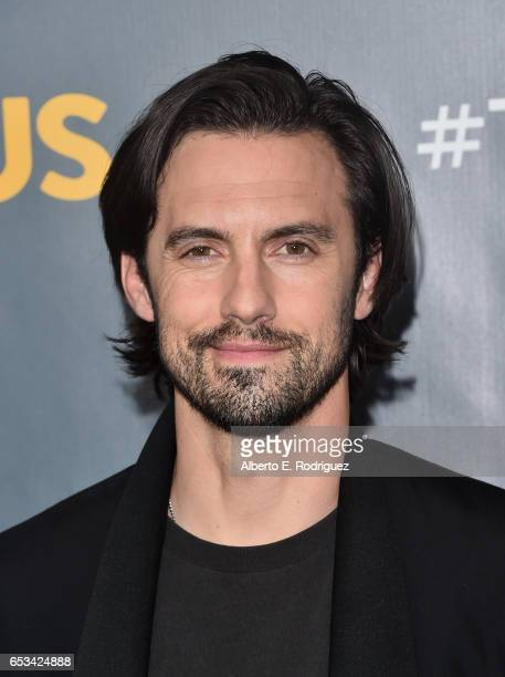 Actor Milo Ventimiglia attends a screening of the season finale of NBC's 'This Is Us' at The Directors Guild Of America on March 14 2017 in Los...