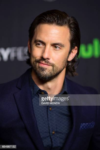 Actor Milo Ventimiglia attends PaleyFest LA at the Dolby Theatre on March 18 2017 in the Hollywood section of Los Angeles California / AFP PHOTO /...