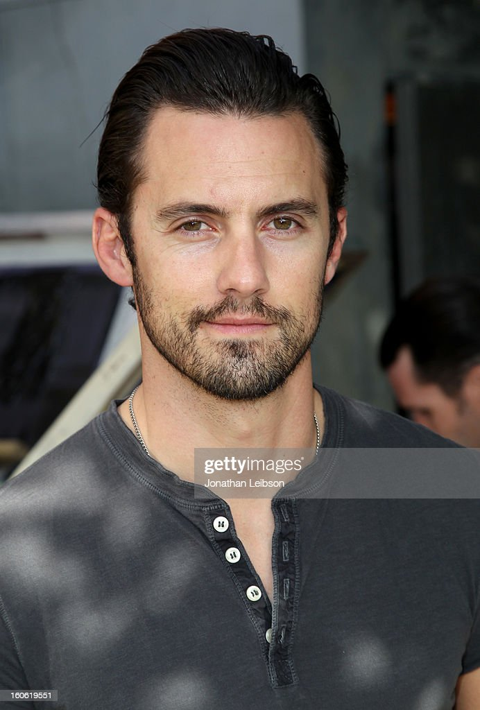 Actor <a gi-track='captionPersonalityLinkClicked' href=/galleries/search?phrase=Milo+Ventimiglia&family=editorial&specificpeople=743960 ng-click='$event.stopPropagation()'>Milo Ventimiglia</a> attends Super Bowl Sunday at The Microsoft Experience on February 3, 2013 in Venice, California.