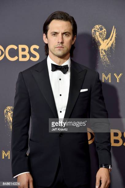 Actor Milo Ventimiglia attends the 69th Annual Primetime Emmy Awards at Microsoft Theater on September 17 2017 in Los Angeles California
