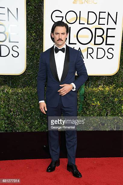 Actor Milo Ventimiglia attends the 74th Annual Golden Globe Awards at The Beverly Hilton Hotel on January 8 2017 in Beverly Hills California