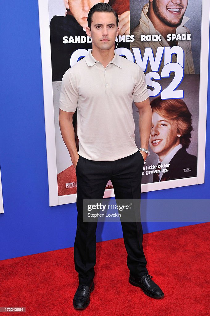 Actor Milo Ventimiglia attends the 'Grown Ups 2' New York Premiere at AMC Lincoln Square Theater on July 10, 2013 in New York City.
