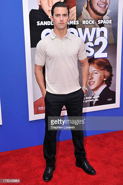 Actor Milo Ventimiglia attends the 'Grown Ups 2' New York Premiere at AMC Lincoln Square Theater on July 10 2013 in New York City