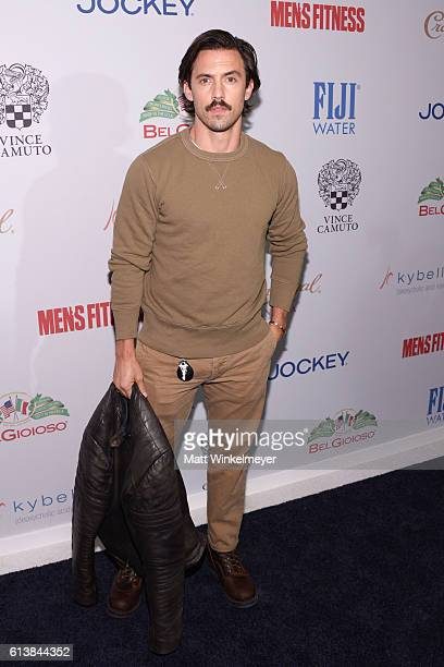 Actor Milo Ventimiglia attends the Men's Fitness Game Changers Celebration at Sunset Tower Hotel on October 10 2016 in West Hollywood California