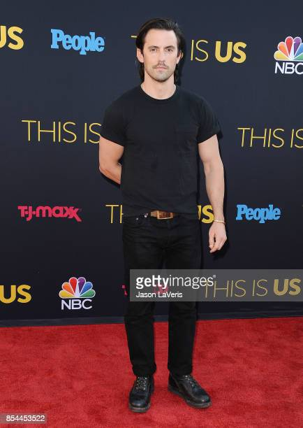 Actor Milo Ventimiglia attends the season 2 premiere of 'This Is Us' at NeueHouse Hollywood on September 26 2017 in Los Angeles California
