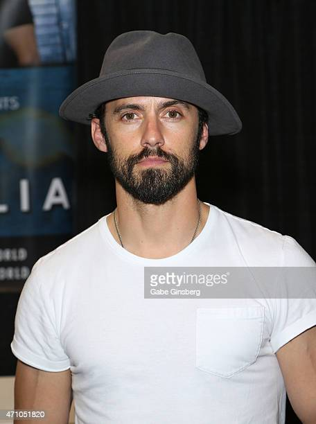 Actor Milo Ventimiglia attends Wizard World Comic Con Las Vegas at the Las Vegas Convention Center on April 24 2015 in Las Vegas Nevada
