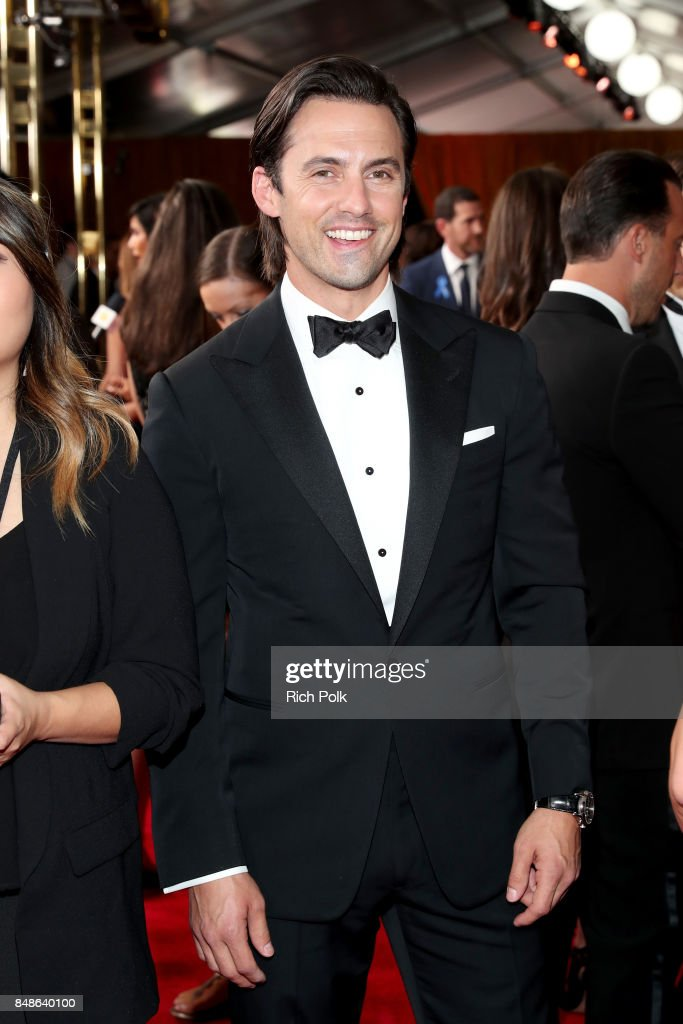 Actor Milo Ventimiglia walks the red carpet during the 69th Annual Primetime Emmy Awards at Microsoft Theater on September 17, 2017 in Los Angeles, California.