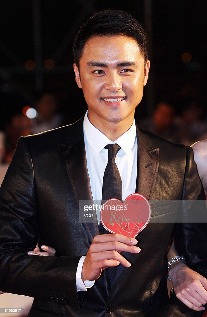 Actor Ming Dow arrives at the opening ceremony of the 11th Shanghai Film Festival on June 14, 2008 in Shanghai, China.