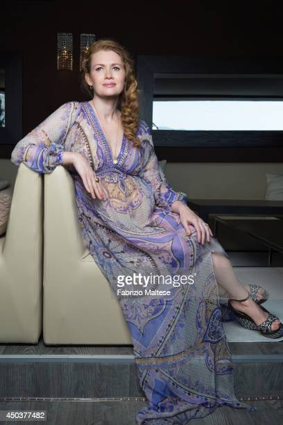 Actor Mireille Enos ia photographed in Cannes France