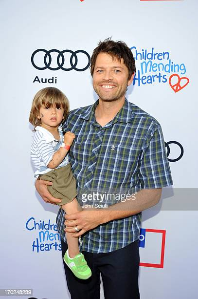 Actor Misha Collins arrives at the 1st Annual Children Mending Hearts Style Sunday on June 9 2013 in Beverly Hills California