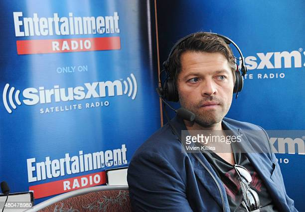 Actor Misha Collins attends SiriusXM's Entertainment Weekly Radio Channel Broadcasts From ComicCon 2015 at Hard Rock Hotel San Diego on July 11 2015...