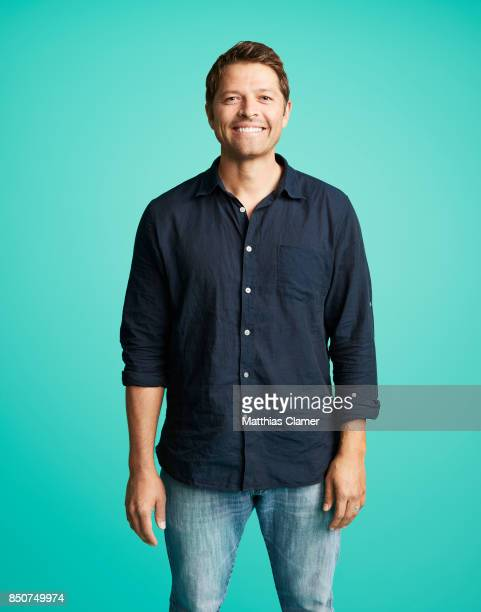 Actor Misha Collins from Supernatural is photographed for Entertainment Weekly Magazine on July 21 2017 at Comic Con in San Diego California...