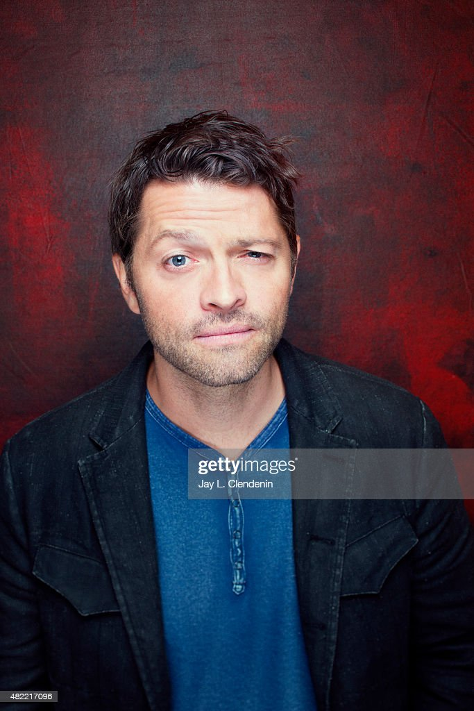Actor Misha Collins of 'Supernatural' poses for a portrait at Comic-Con International 2015 for Los Angeles Times on July 9, 2015 in San Diego, California. PUBLISHED IMAGE.