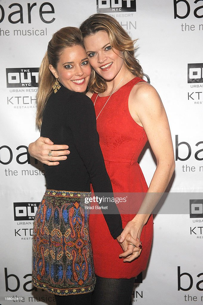 Actor Missi Pyle (L) and Christina Moore attend 'BARE The Musical' Opening Night After Party at Out Hotel on December 9, 2012 in New York City.