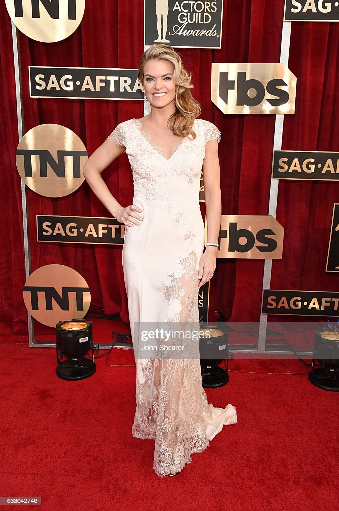 Actor Missi Pyle attends The 23rd Annual Screen Actors Guild Awards at The Shrine Auditorium on January 29, 2017 in Los Angeles, California.