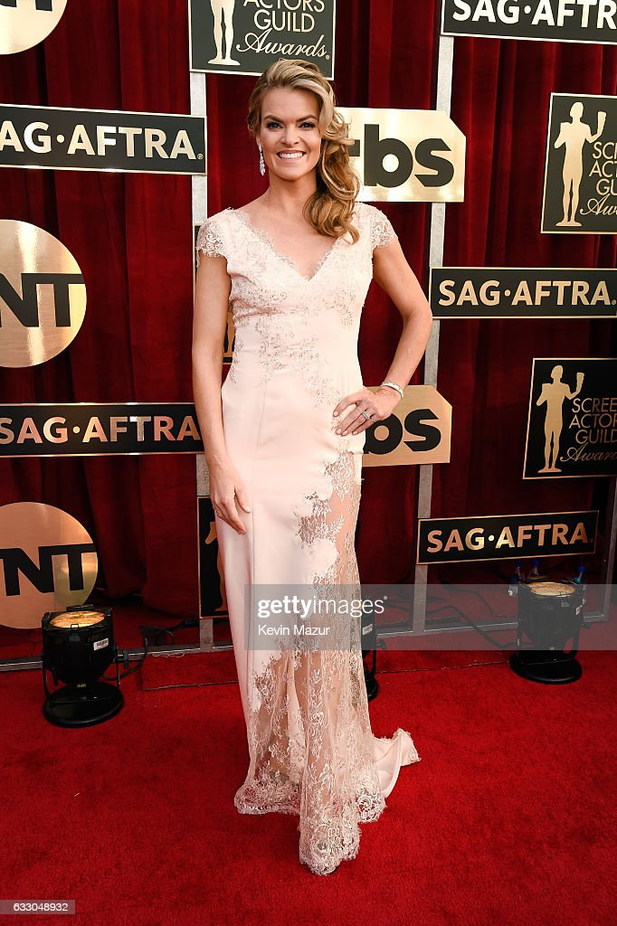 Actor Missi Pyle attends The 23rd Annual Screen Actors Guild Awards at The Shrine Auditorium on January 29, 2017 in Los Angeles, California. 26592_011