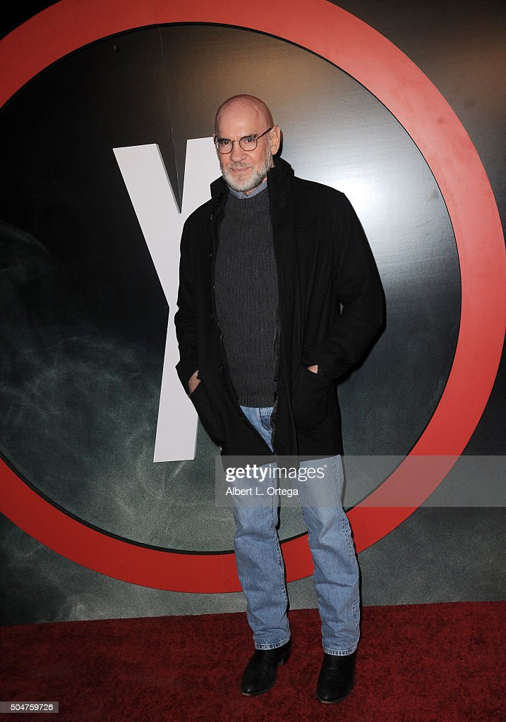 Actor Mitch Pileggi arrives for the premiere of Fox's 'The XFiles' held at California Science Center on January 12 2016 in Los Angeles California