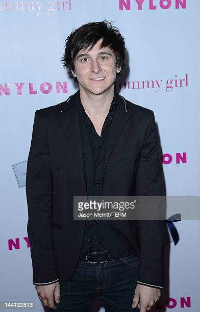 Actor Mitchel Musso arrives at the NYLON Magazine Annual May Young Hollywood Issue party held at the Hollywood Roosevelt Hotel on May 9 2012 in...