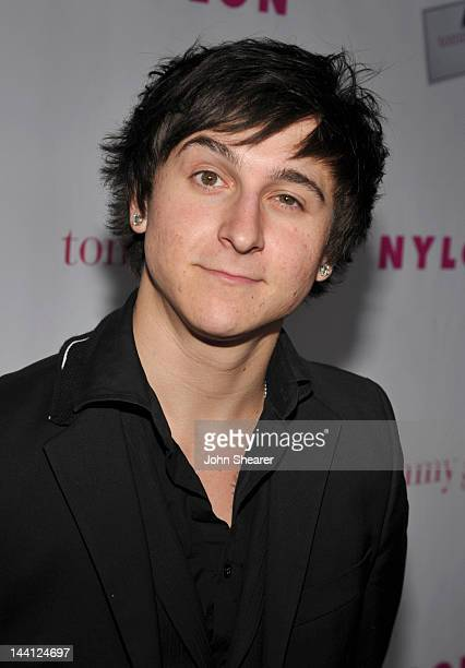 Actor Mitchel Musso attends NYLON Magazine And Tommy Girl Celebrate The Annual May Young Hollywood Issue Party at Hollywood Roosevelt Hotel on May 9...