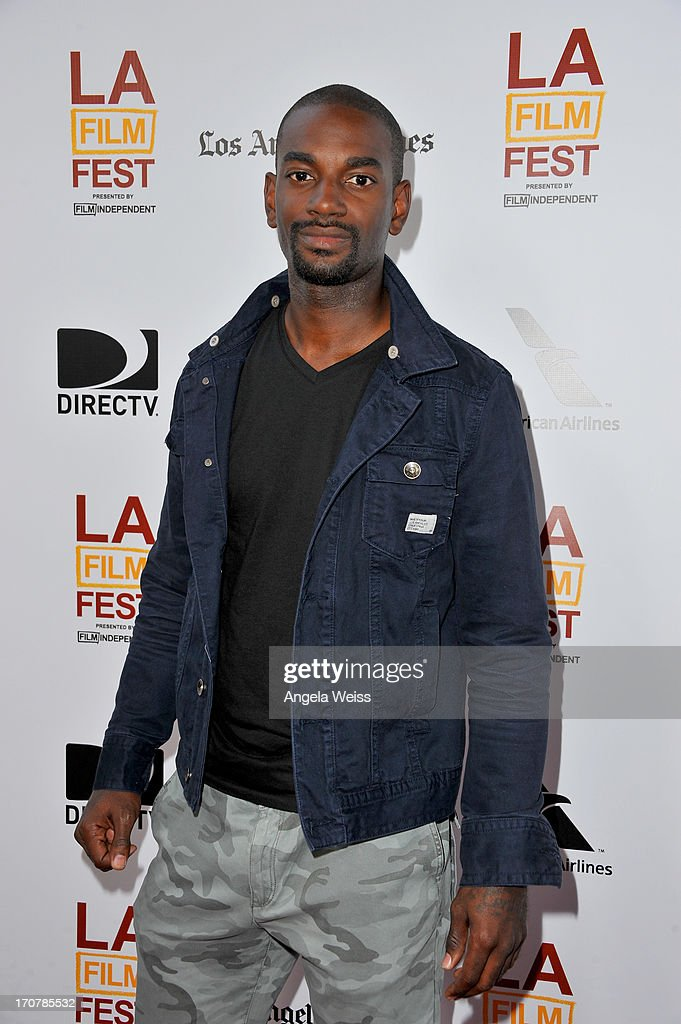 Actor <a gi-track='captionPersonalityLinkClicked' href=/galleries/search?phrase=Mo+McRae&family=editorial&specificpeople=5707411 ng-click='$event.stopPropagation()'>Mo McRae</a> arrives at the premiere of The Weinstein Company's 'Fruitvale Station' during the 2013 Los Angeles Film Festival at Regal Cinemas L.A. Live on June 17, 2013 in Los Angeles, California.