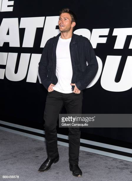 Actor/ model Scott Eastwood attends 'The Fate Of The Furious' New York Premiere at Radio City Music Hall on April 8 2017 in New York City