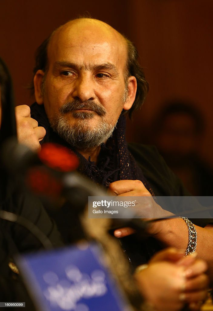 Actor Mohammadreza Davoudnejad at Day 8 of the 31th International Fajr Film Festival on February 7, 2013 in Tehran, Iran. Organized by the Ministry of Culture and Islamic Guidance, the Film Festival is the most important film event in the country.