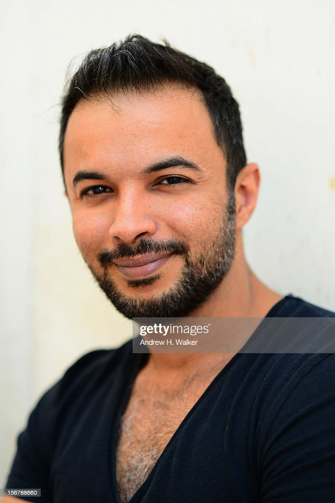 Actor Mohammed Harib poses for a portrait during the 2012 Doha Tribeca Film Festival at the AL Najada Hotel on November 20, 2012 in Doha, Qatar.
