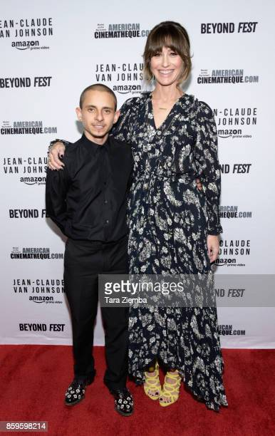Actor Moises Arias and actress Kat Foster attend the Beyond Fest screening of Amazon Prime Video's exclusive series 'JeanClaude Van Johnson' at The...