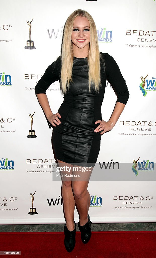 Actor <a gi-track='captionPersonalityLinkClicked' href=/galleries/search?phrase=Mollee+Gray&family=editorial&specificpeople=5460618 ng-click='$event.stopPropagation()'>Mollee Gray</a> arrives at The Annual Women's Image Awards at Santa Monica Bay Woman's Club on December 11, 2013 in Santa Monica, California.