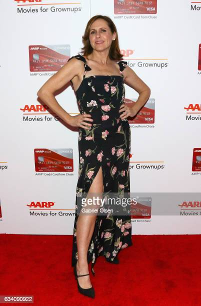 Actor Molly Shannon attends the 16th Annual AARP The Magazine's Movies For Grownups Awards at the Beverly Wilshire Four Seasons Hotel on February 6...