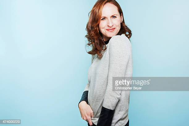 Actor Molly Shannon is photographed for Entertainment Weekly Magazine on January 25 2014 in Park City Utah