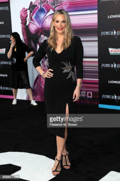 Actor Molly Sims at the premiere of Lionsgate's 'Power Rangers' on March 22 2017 in Westwood California