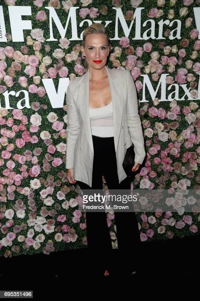 Actor Molly Sims attends Max Mara Celebration of Zoey Deutch as The 2017 Women In Film Max Mara Face of The Future Award Recipient at Chateau Marmont...
