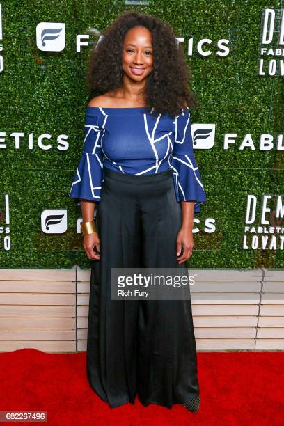 Actor Monique Coleman attends the launch of Fabletics Capsule Collection at the Beverly Hills Hotel on May 10 2017 in Los Angeles California
