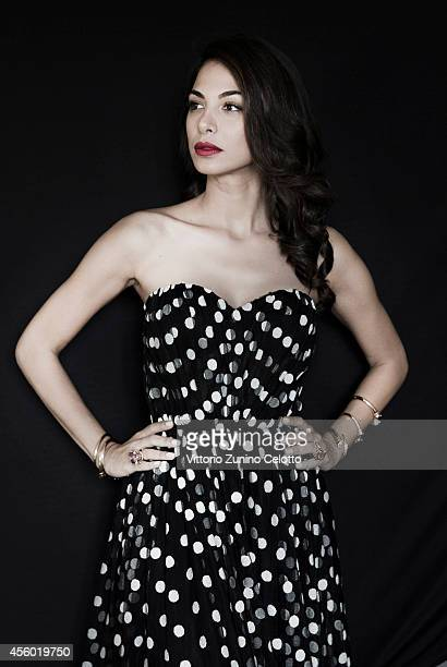 Actor Moran Atias is photographed on September 6 2014 in Venice Italy