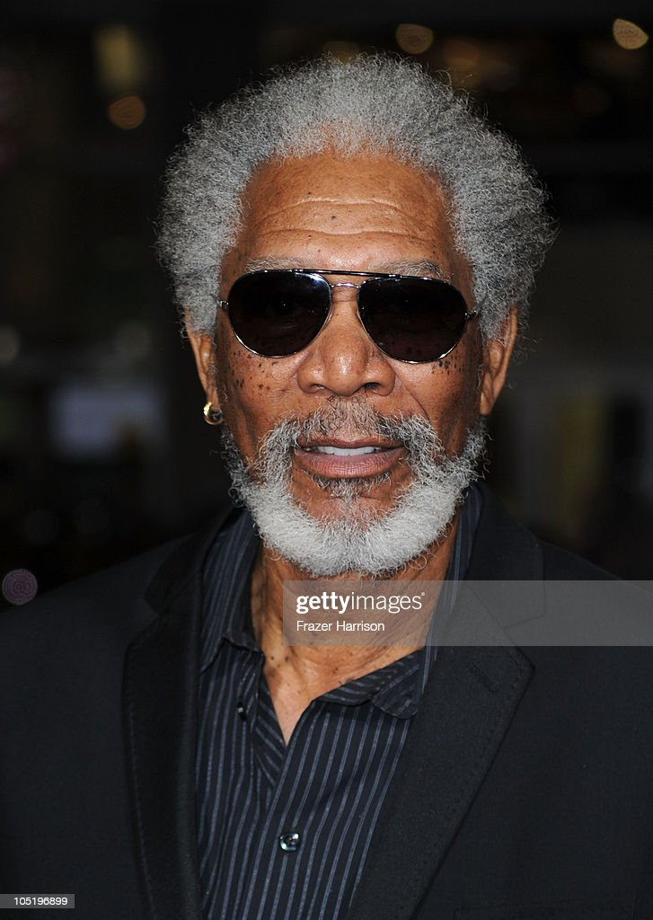 Actor Morgan Freeman arrives at a special screening of Summit Entertainment's 'RED' at Grauman's Chinese Theatre on October 11, 2010 in Hollywood, California.