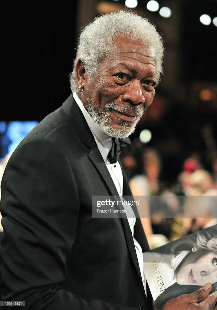 Actor Morgan Freeman attends the 2014 AFI Life Achievement Award: A Tribute to Jane Fonda at the Dolby Theatre on June 5, 2014 in Hollywood, California. Tribute show airing Saturday, June 14, 2014 at 9pm ET/PT on TNT.