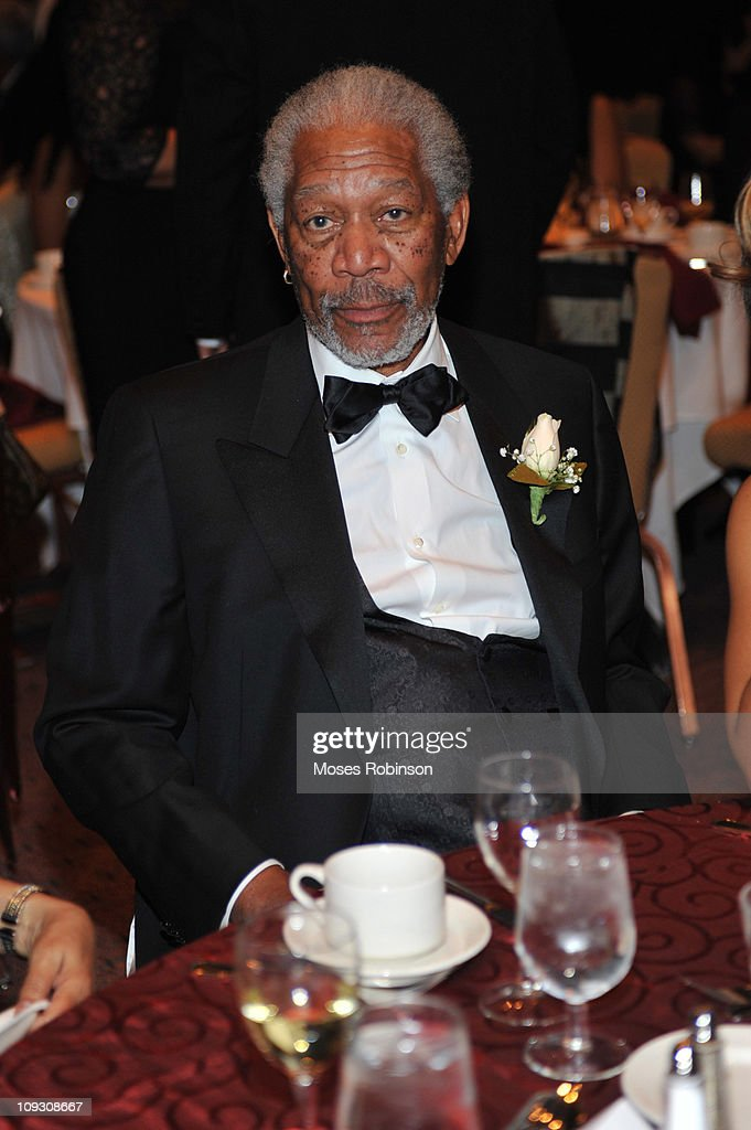Actor Morgan Freeman attends the 23rd Annual 'A Candle in the Dark' Gala at the Hyatt Regency on February 19, 2011 in Atlanta, Georgia.