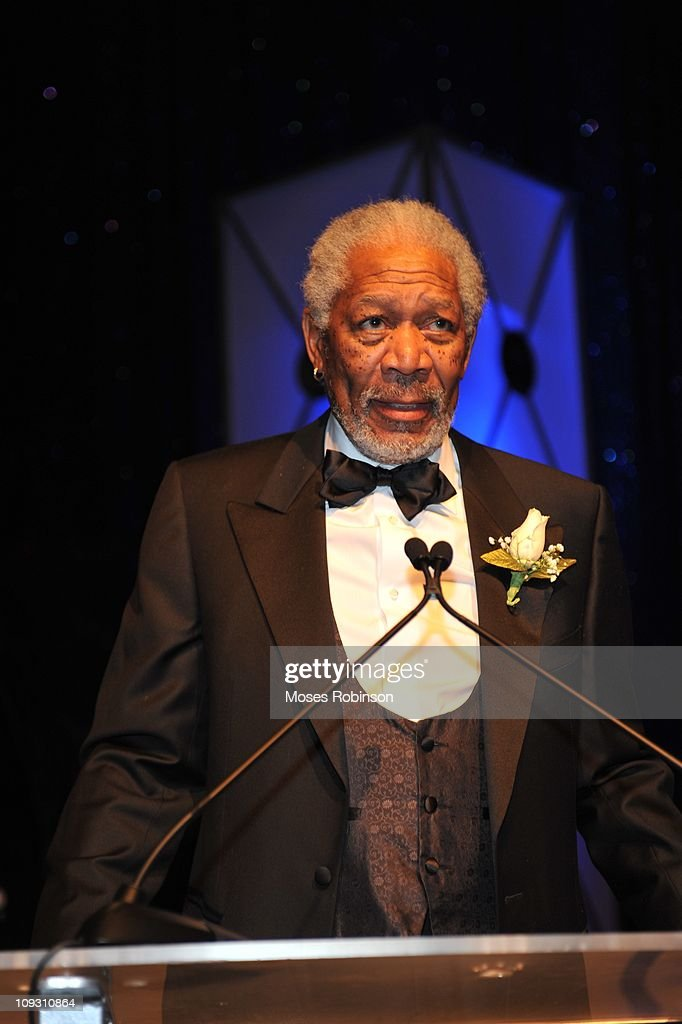 Actor <a gi-track='captionPersonalityLinkClicked' href=/galleries/search?phrase=Morgan+Freeman&family=editorial&specificpeople=169833 ng-click='$event.stopPropagation()'>Morgan Freeman</a> attends the 23rd Annual 'A Candle in the Dark' Gala at the Hyatt Regency on February 19, 2011 in Atlanta, Georgia.