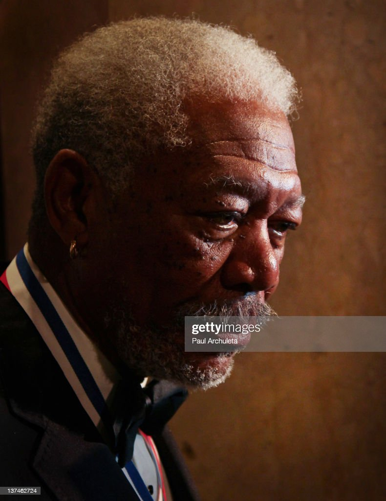 Actor Morgan Freeman attends the 9th annual 'Living Legends Of Aviation' awards at The Beverly Hilton hotel on January 20, 2012 in Beverly Hills, California.