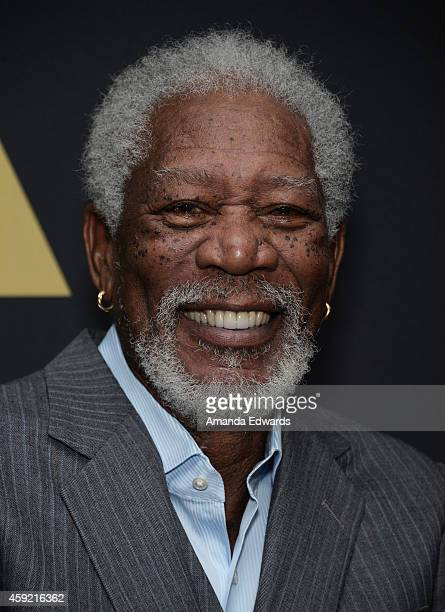 Actor Morgan Freeman attends The Academy's 20th Anniversary Screening of 'The Shawshank Redemption' at the AMPAS Samuel Goldwyn Theater on November...