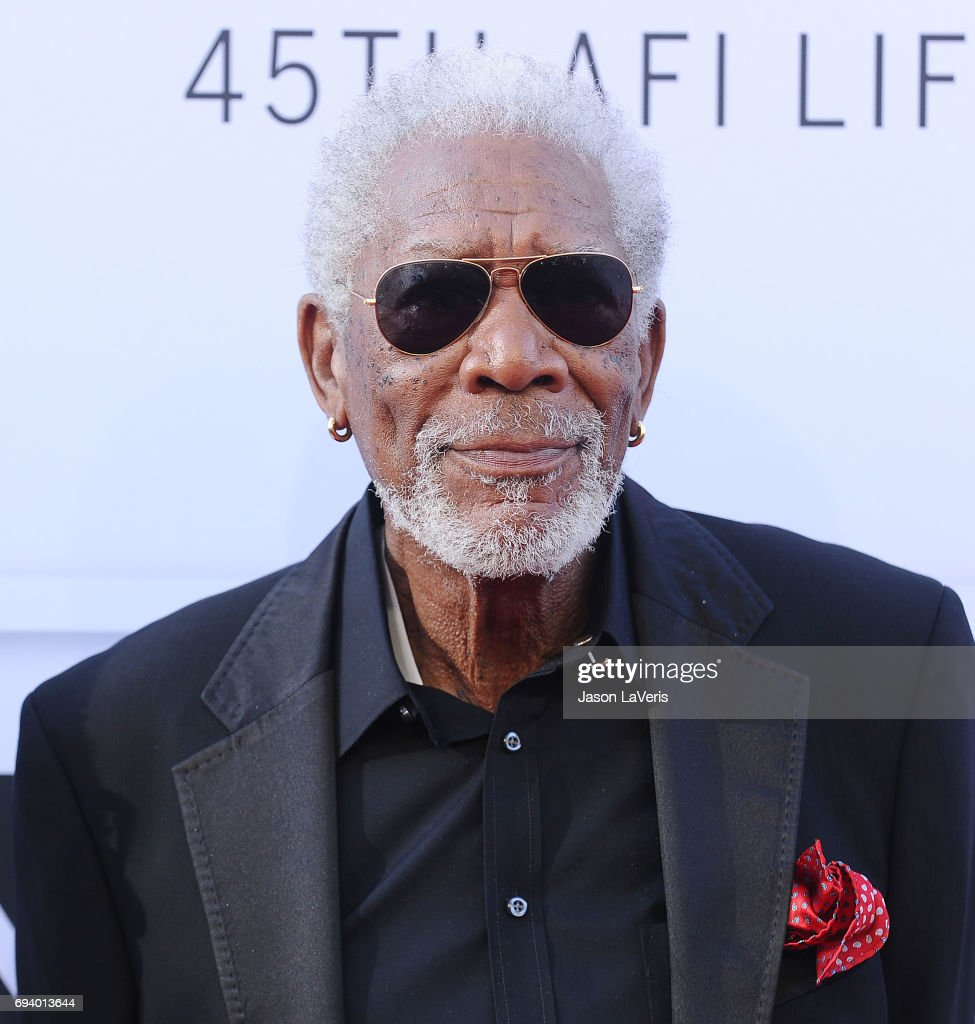 Actor Morgan Freeman attends the AFI Life Achievement Award gala at Dolby Theatre on June 8, 2017 in Hollywood, California.