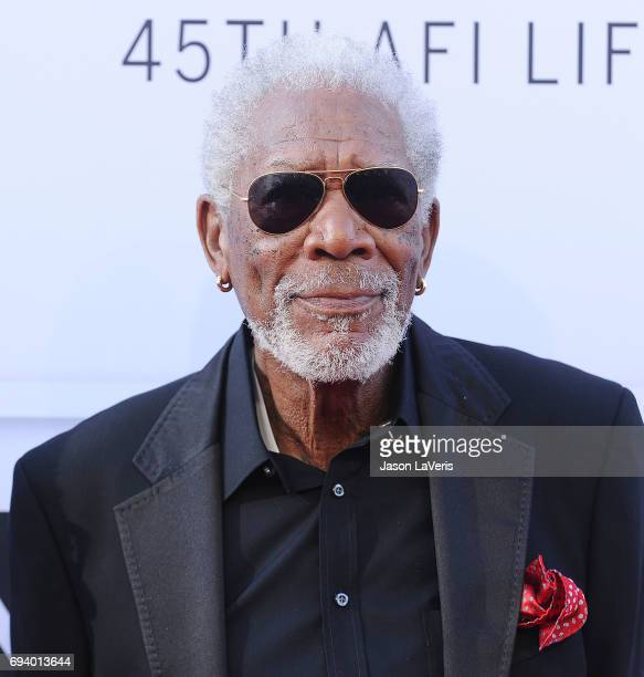 Actor Morgan Freeman attends the AFI Life Achievement Award gala at Dolby Theatre on June 8 2017 in Hollywood California