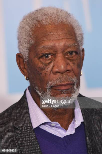 Actor Morgan Freeman attends the Going In Style special screening on April 5 2017 in London United Kingdom