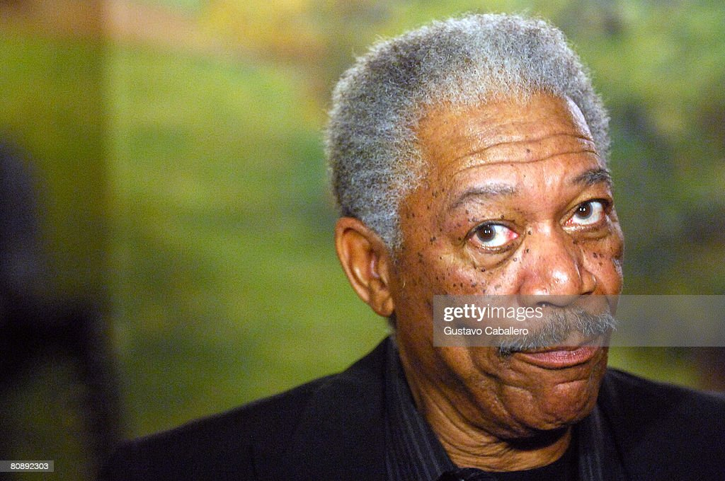 Actor Morgan Freeman attends the opening night after party for the revival of 'The Country Girl' on Broadway at Tavern On The Green on April 27 2008...