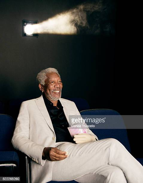 Actor Morgan Freeman poses for a portrait at CinemaCon 2013 on April 18 2013 in Las Vegas Nevada